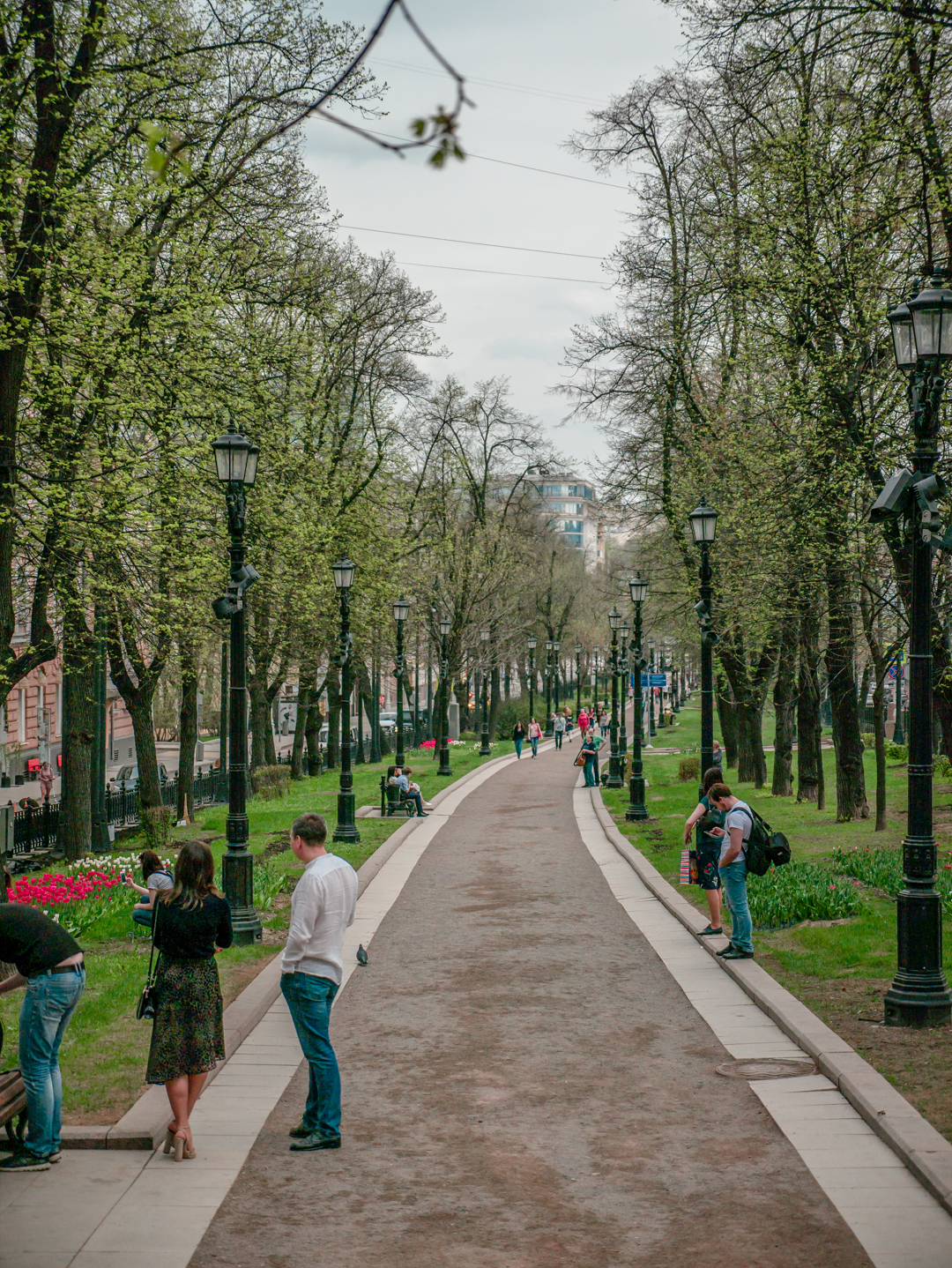 Free walking guide in Moscow [Boulevard Ring]