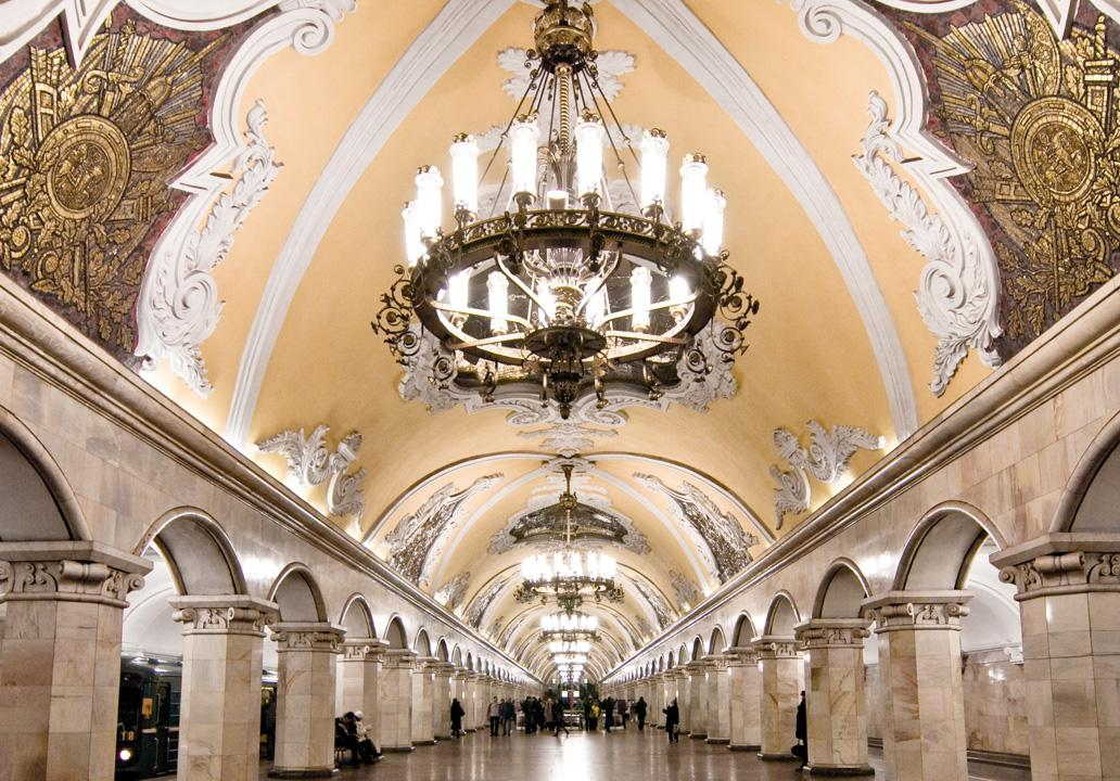 Travel In Time and On Time in Moscow Metro