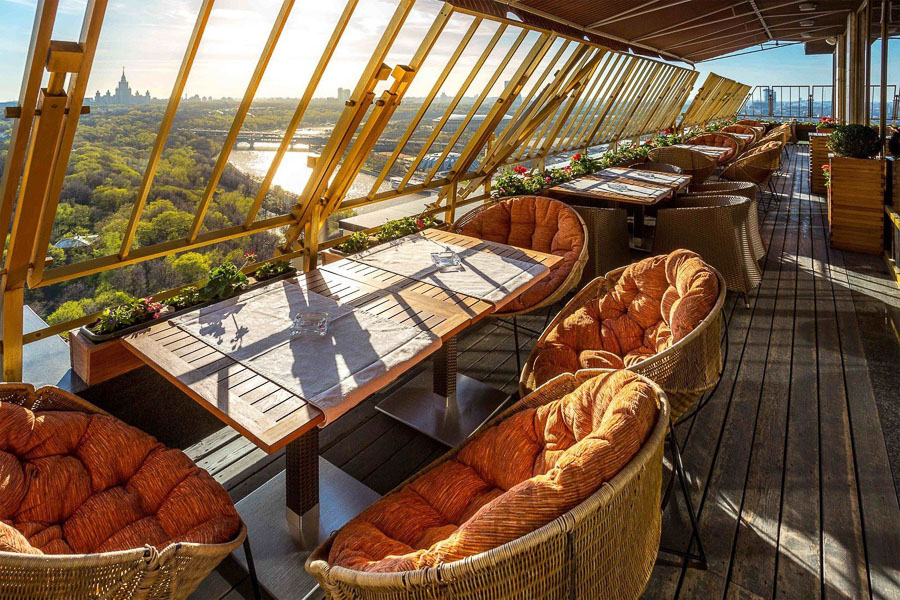 View from the top: rooftop restaurants in Moscow