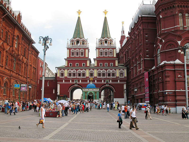 Moscow for dummies [To see Moscow in 1 day | Summer]